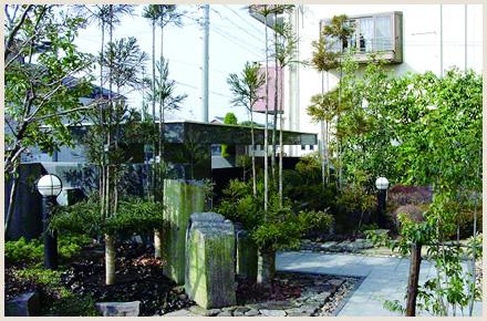 住む人や近隣の環境にやさしく安心な庭造りのイメージ