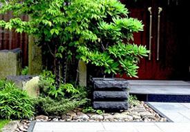玄関前の修景のイメージ