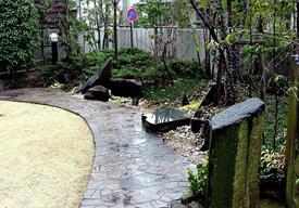 主庭 自然に広がる開放感のイメージ