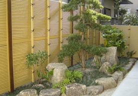 完成した坪庭のイメージ